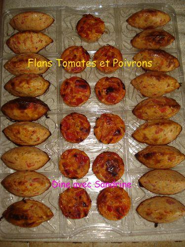 Flans Tomates et Poivrons 6