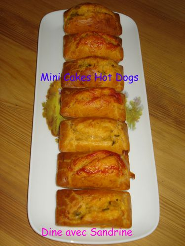 Mini Cakes Hot Dogs 8