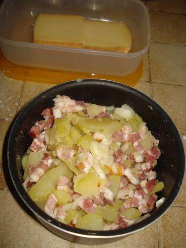 Tarte au Lard et Raclette 3