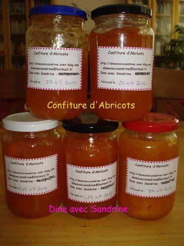 Confitures d'Abricots 3
