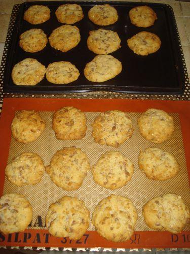 Cookies à la Nougatine et au Chocolat 6