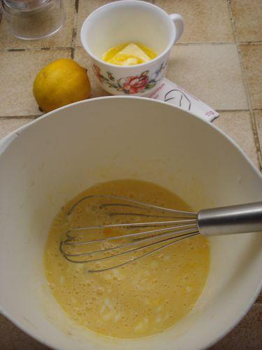 Mini moelleux au citron et marmelade d'oranges 2