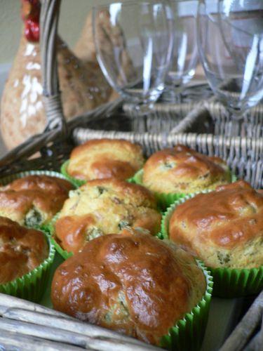 Muffins thon / cornichons