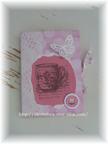 Bloc notes challenge style shabby (0)