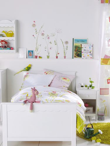 des stickers enfant qui invitent la nature maisonjardin. Black Bedroom Furniture Sets. Home Design Ideas