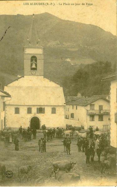 Aldude plaza Picabéa