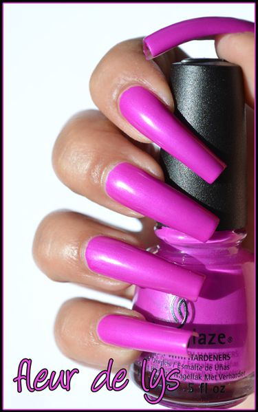 China Glaze Neon Collection 2012