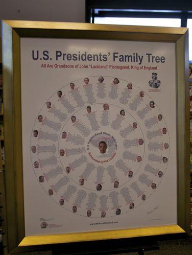 origen común de los presidentes de estados unidos