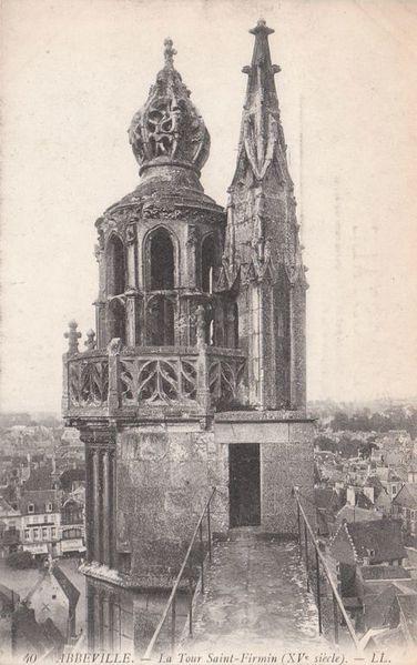 Abbeville la tour St Firmin