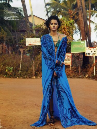 Lakshmi Menon Marie Claire Italie 4