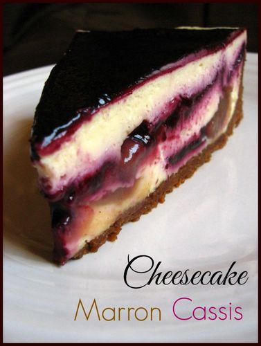 Copy of cheesecake marron cassis 059