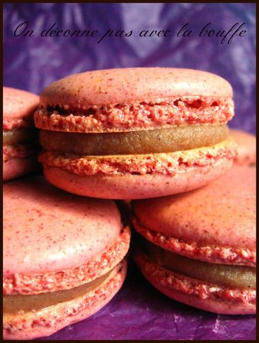 Copy of macarons marron cassis 031