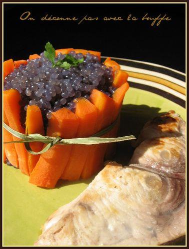 espadon grillé et son caviar japonais 014