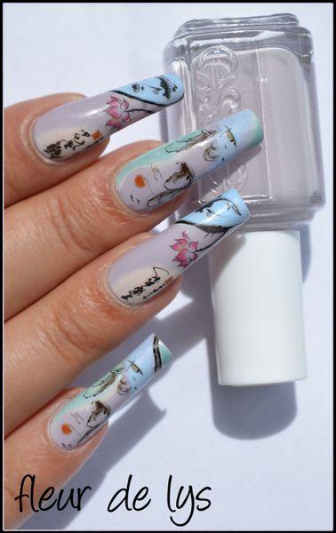 Nail Art Inspiration asiatique