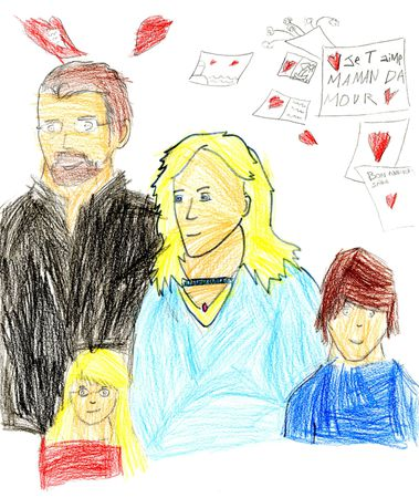 2014.05.08-crayons-famille-dessin FF, coloriage PF