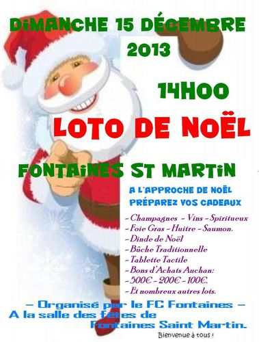 Affiche 2013 Souriant-pere-noel