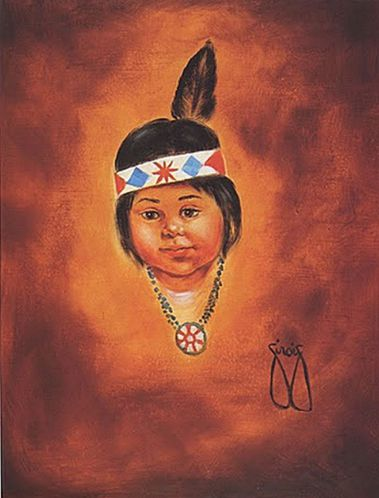 3.The Joy of Painting with Ferne Sirois- Indian Girl