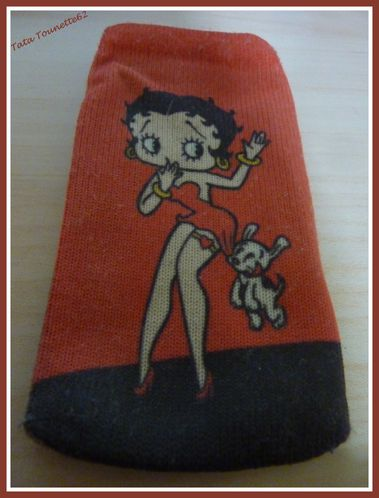 Chaussette portable Betty Boop