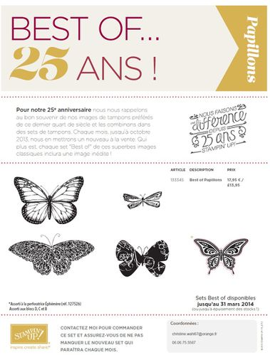 best of 25 ans