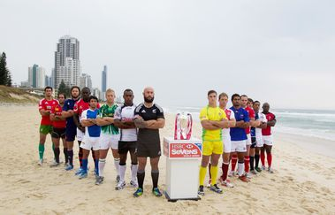 Capitaines Dubai Rugby Sevens-2012