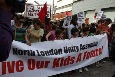 North London Unity Demo