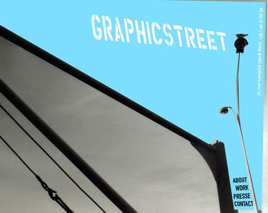 Graphicstreet home page
