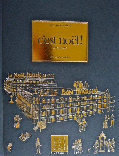 Bon marché catalogue Noël