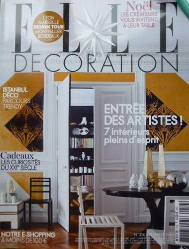 Porte, Elle Décoration, Couverture, 2012 Noël