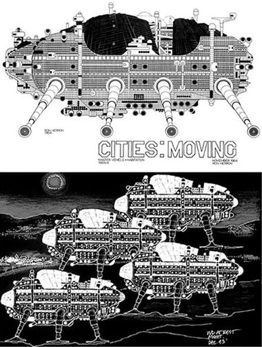 Walking city d'Archigram