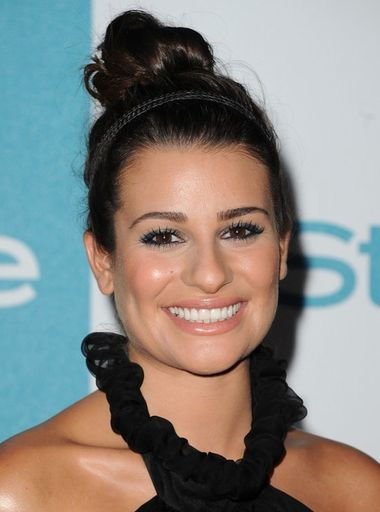 lea-michele-top-knot-hairstyle.jpeg