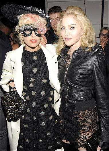 Lady Madonna and Lady Gaga
