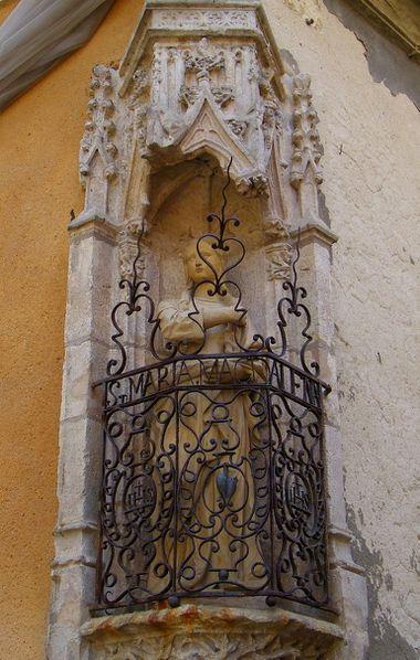 1068 Ste-Maria Magdalena, rue de la Verrier et rue Bouquet,