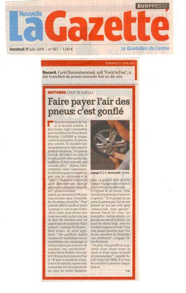 nouvelle-gazette centre 20110617 motards coup-de-gueule
