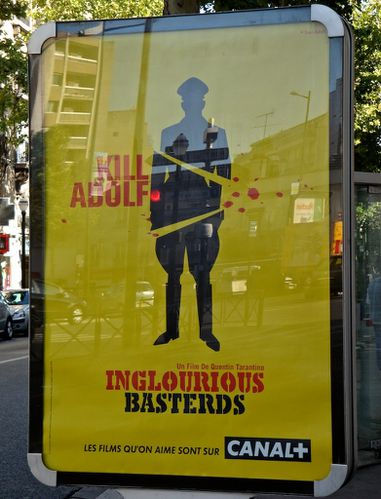 affiche canal + Inglorious basterds 2