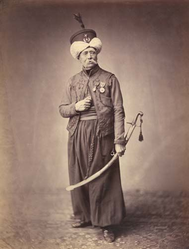 ducel, mameluco de la guardia 1813 - 1815