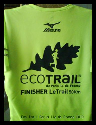 finisher 50 km eco trail paris ile de france 2010 le plaisir de courir courir pour vivre de. Black Bedroom Furniture Sets. Home Design Ideas