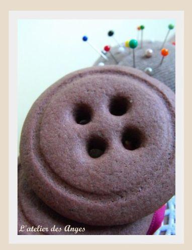 Sablé bouton chocolat 2