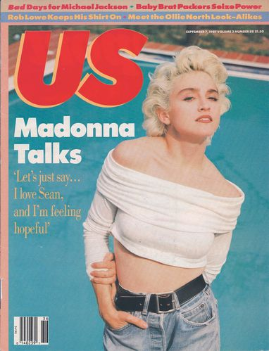 Madonna US 87-Cover