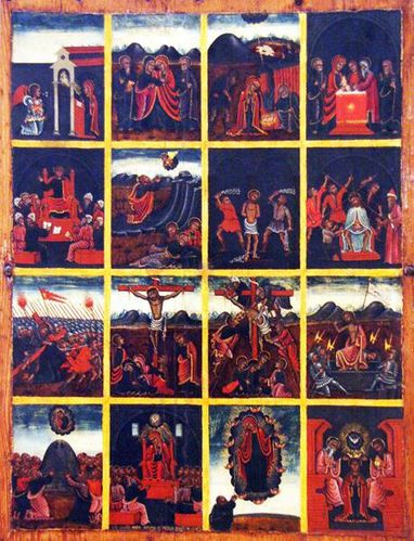628d2a Bari, Giovanni Maria Scupula, Histoire du Christ et