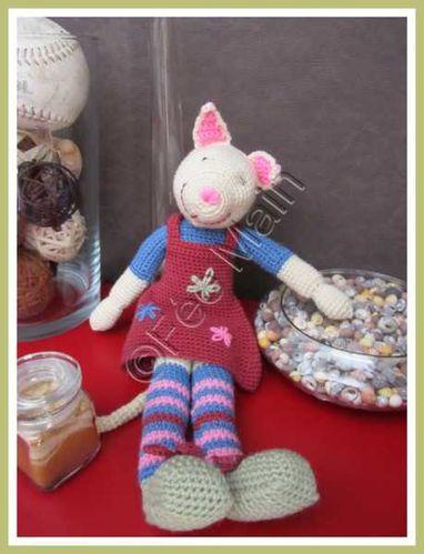 crochet doudou chatte 4