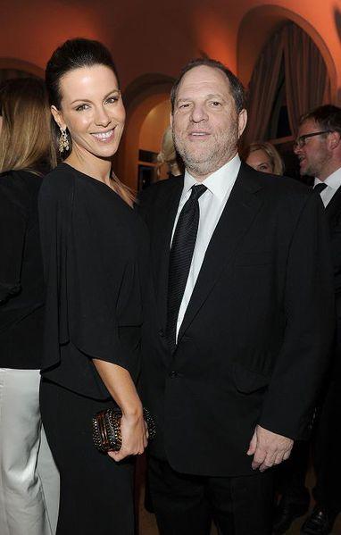 Kate Beckinsale & Hervey Weinstein
