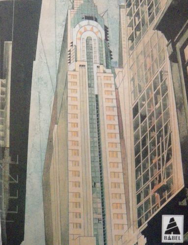 Earle Horter, The Chrysler Building under construction, 1931