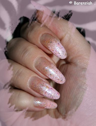 rose paillettes 019