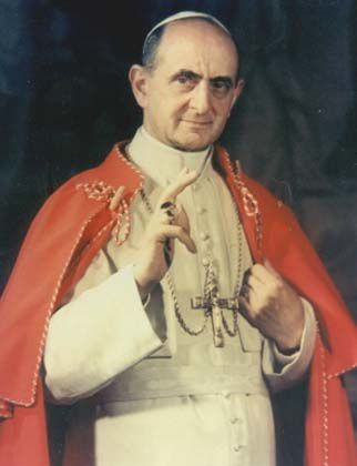 Bénédiction du Pape Paul VI