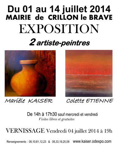 EXPO COLETTE ET MARIELE 2014