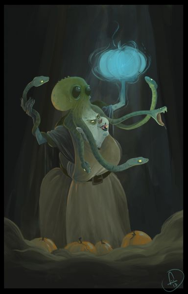 medusa poulpe