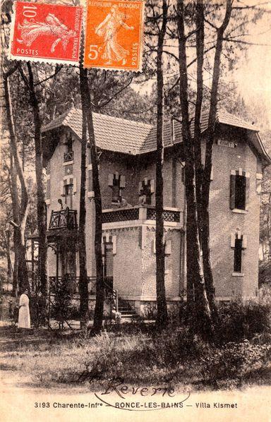 Villa Kismet où ont séjourné de nombreux jeunes étrange