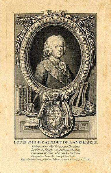 Louis Philipeaux, Duc de la Vrillière