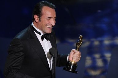 The artist oscar 2012 le blog de anne for Jean dujardin muet