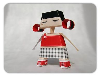Papertoys Girl Tita !